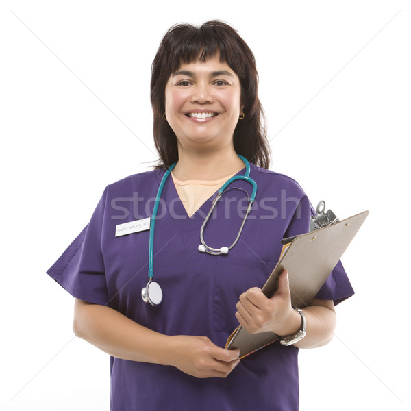 Medical woman. Stock photo © iofoto