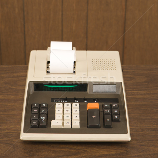 Adding machine. Stock photo © iofoto