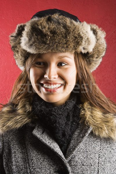 Woman in winter. Stock photo © iofoto