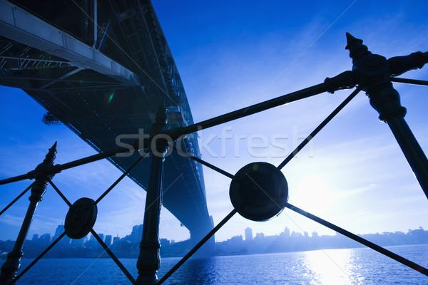 Sydney Harbour Bridge, Australia. Stock photo © iofoto