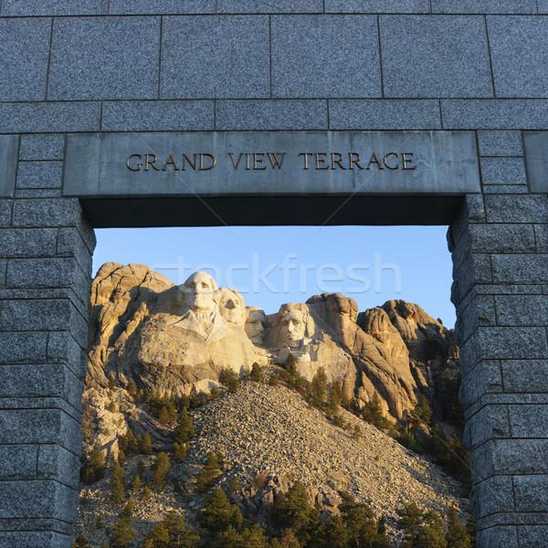 Mt Rushmore. Stock photo © iofoto
