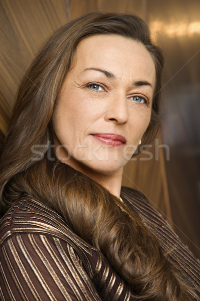 Beautiful woman portrait. Stock photo © iofoto