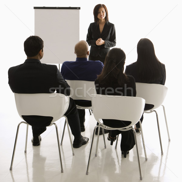 Business presentation. Stock photo © iofoto