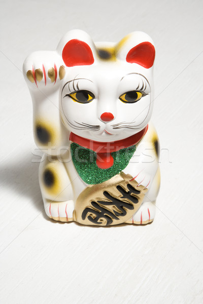 Japanese cat figurine. Stock photo © iofoto