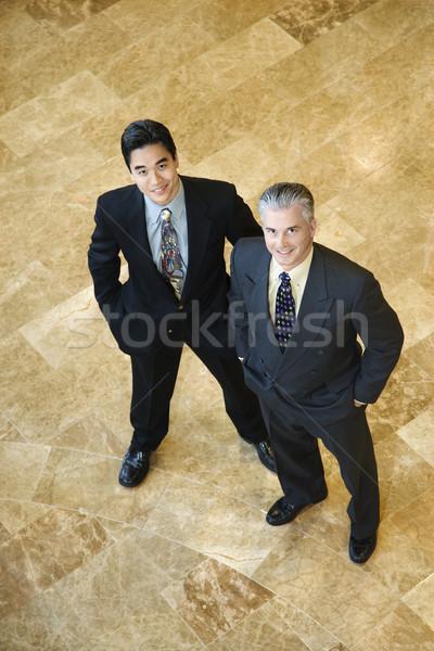 Two Confident Businessmen Stock photo © iofoto