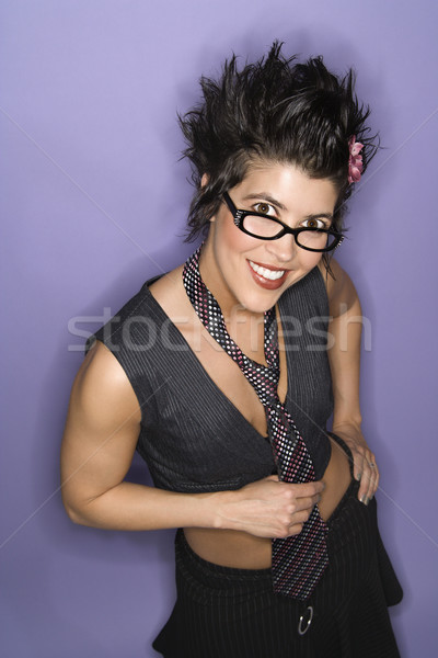 Smiling latina woman. Stock photo © iofoto