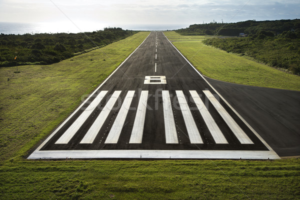 Airplane runway. Stock photo © iofoto