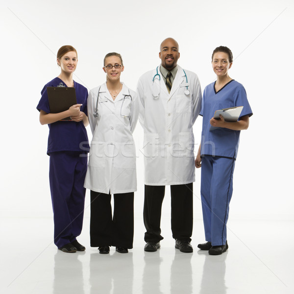 Medical healthcare workers. Stock photo © iofoto