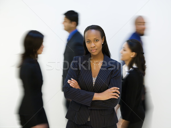 Businesswoman. Stock photo © iofoto