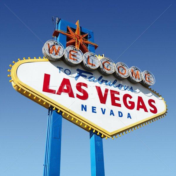 Las Vegas welcome sign. Stock photo © iofoto