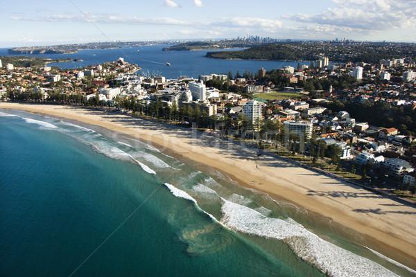 özellik Avustralya Sidney Bina şehir Stok fotoğraf © iofoto