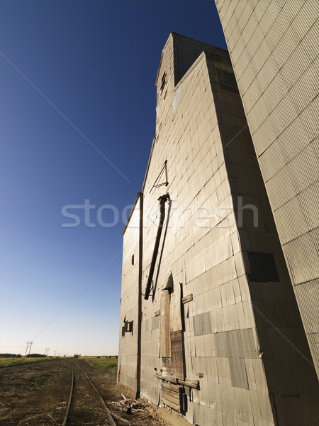 Agricultural structure. Stock photo © iofoto