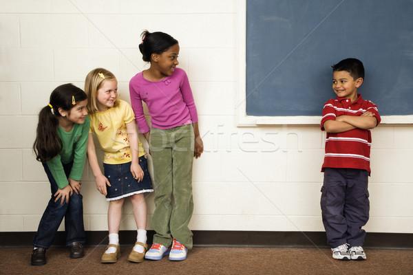 Students in Classroom Stock photo © iofoto