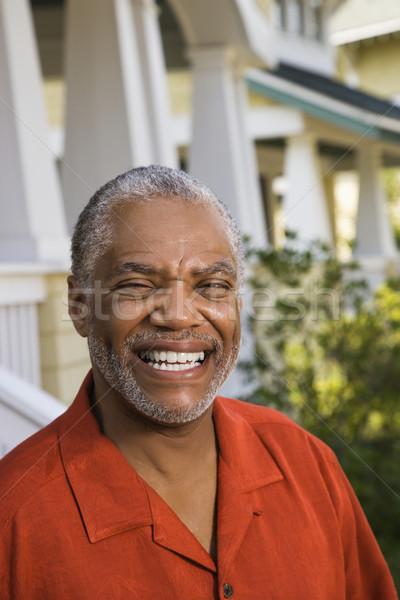 Happy man. Stock photo © iofoto