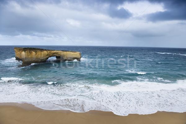 Landform in ocean. Stock photo © iofoto