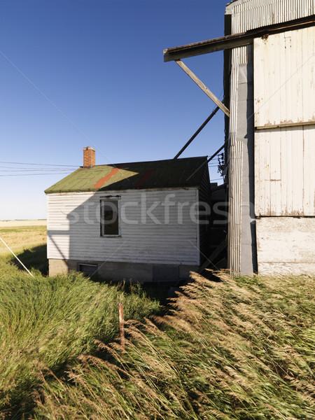 Abandoned building. Stock photo © iofoto