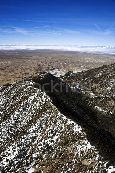 Aerial mountain landscape, Colorado. Stock photo © iofoto