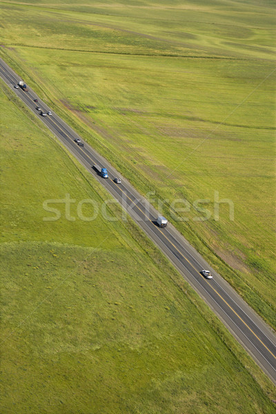 Rural highway. Stock photo © iofoto
