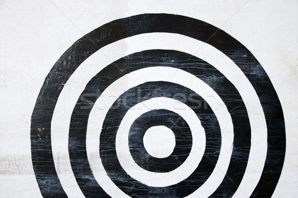 Bullseye target. Stock photo © iofoto