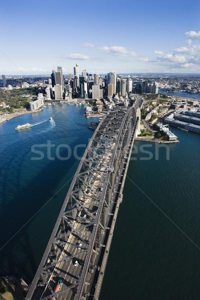 Sydney Harbour Bridge. Stock photo © iofoto