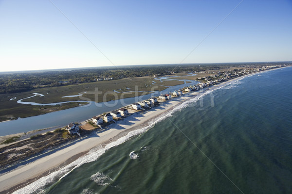 Beachfront homes. Stock photo © iofoto