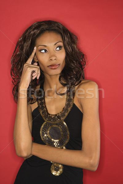 Portrait of posed woman. Stock photo © iofoto