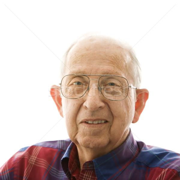 Portrait of elderly man. Stock photo © iofoto