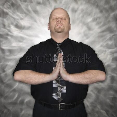 Man meditating. Stock photo © iofoto
