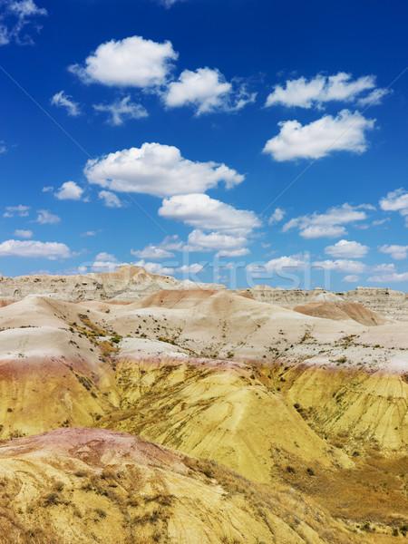 Hills in the South Dakota Badlands Stock photo © iofoto