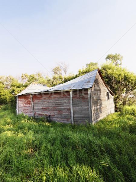 Dilapidated barn. Stock photo © iofoto