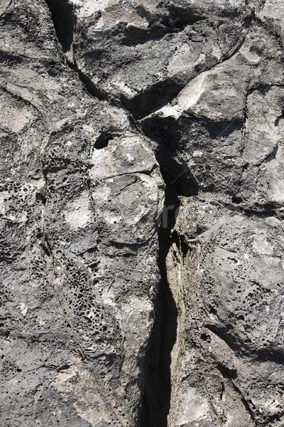 Lava rock with crack in Maui. Stock photo © iofoto