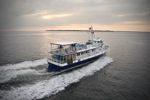 フェリー ボート 海 はげ 頭 島 ストックフォト © iofoto
