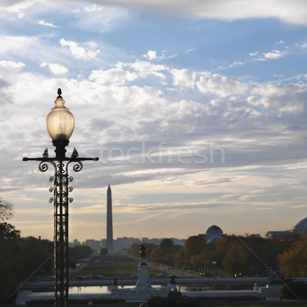 Washington Monument Washington DC USA città colore architettura Foto d'archivio © iofoto