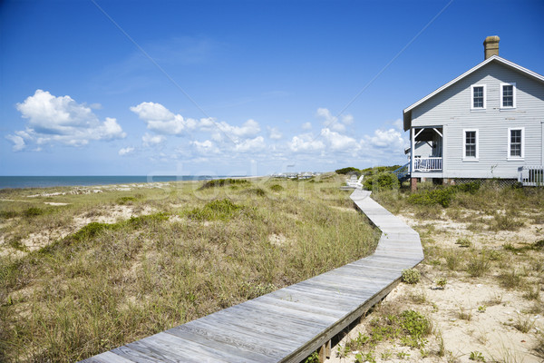Beachfront house. Stock photo © iofoto