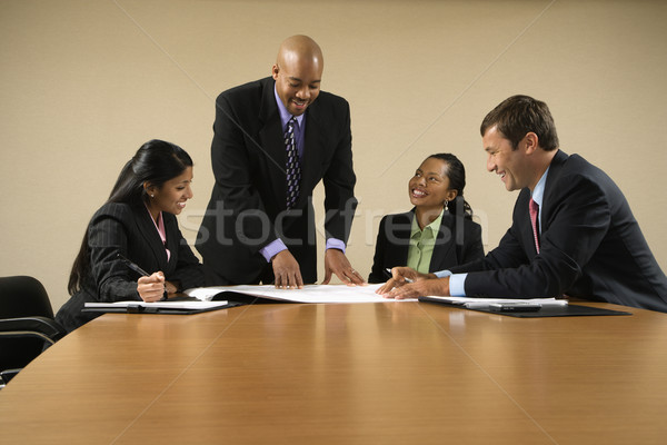 Business information. Stock photo © iofoto