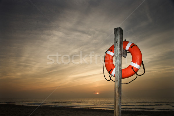 Life Saver on Beach Stock photo © iofoto