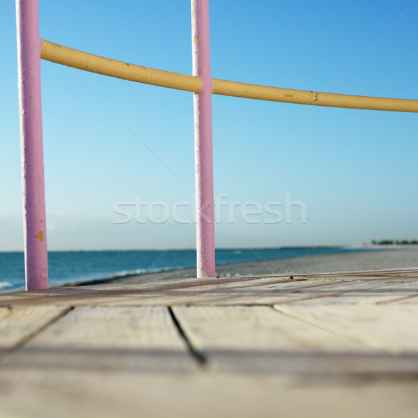 Lifeguard tower in Miami. Stock photo © iofoto
