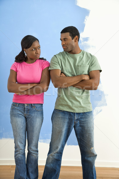 Angry man and woman. Stock photo © iofoto