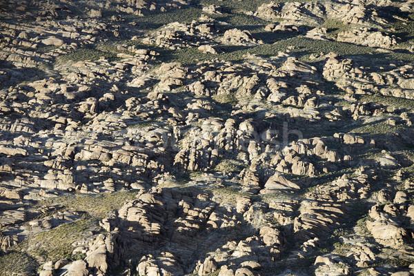 Terep légi Alabama dombok Kalifornia USA Stock fotó © iofoto