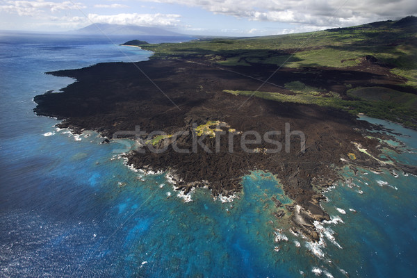 Maui, Hawaii  coast. Stock photo © iofoto