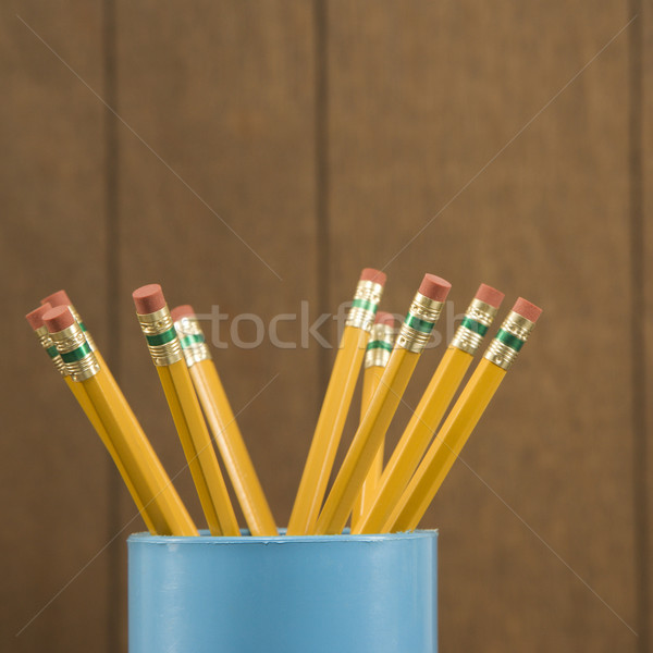 Wooden pencils. Stock photo © iofoto
