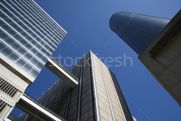 Downtown Atlanta Skyscrapers Stock photo © iofoto