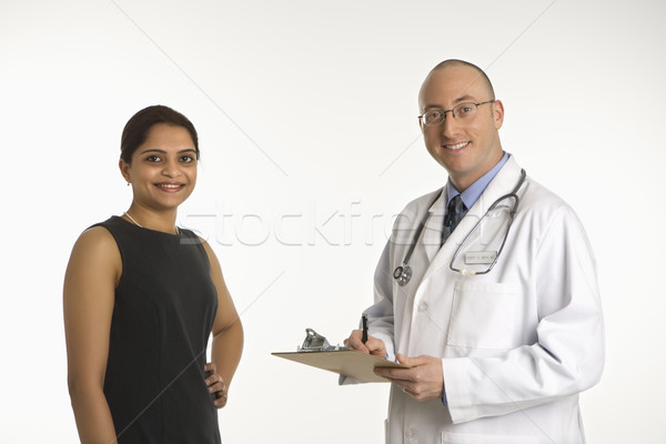 Doctor and patient. Stock photo © iofoto
