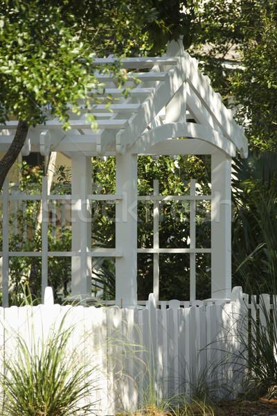 Garden arbor. Stock photo © iofoto