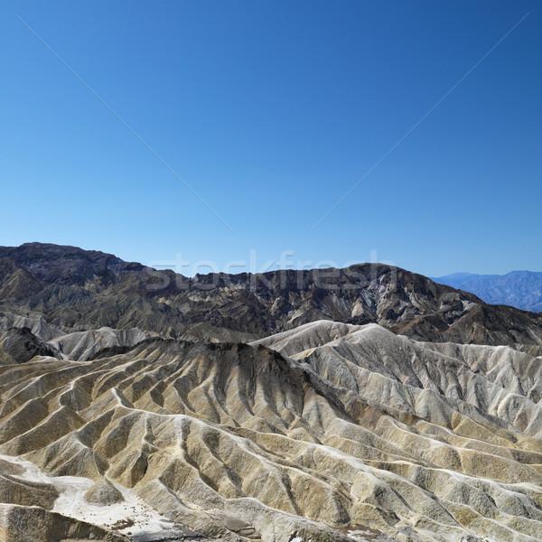 Foto stock: Morte · vale · paisagem · terra · montanha · cor