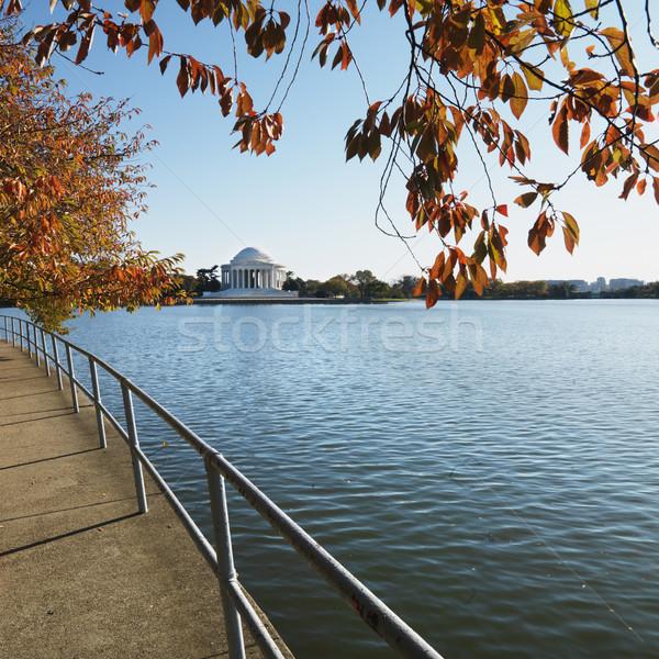 Jefferson Memorial in Washington, D.C., USA. Stock photo © iofoto