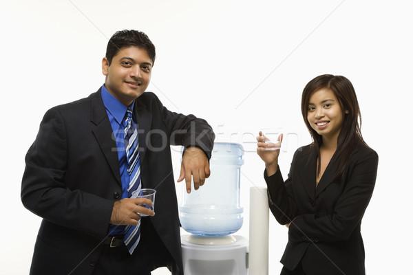 Work socializing. Stock photo © iofoto