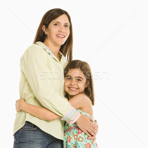 Mother and daughter embracing. Stock photo © iofoto