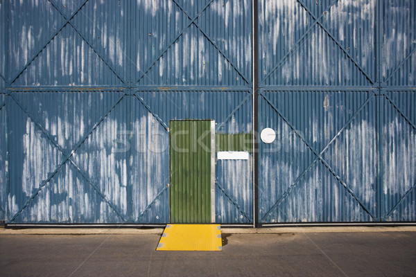 Warehouse exterior. Stock photo © iofoto