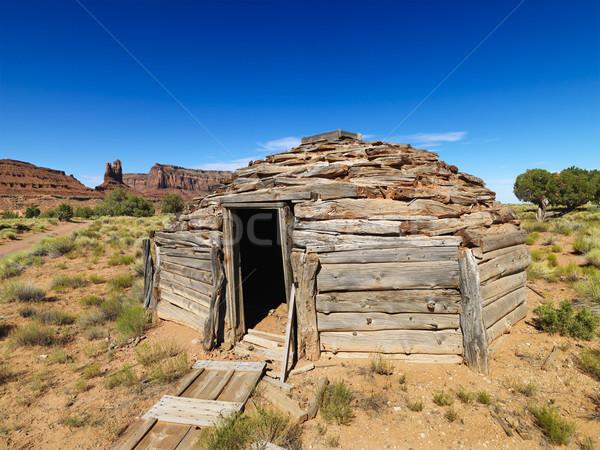 Desert structure. Stock photo © iofoto